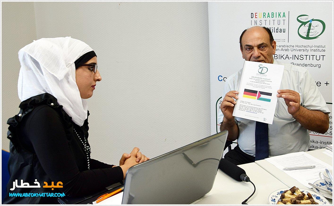 برنامج بانوراما برلين مع ضيفنا عميد معهد العلوم والاستشارات الاقتصادية العربية الالمانية المهندس محمود ابراهيم - ابو العز