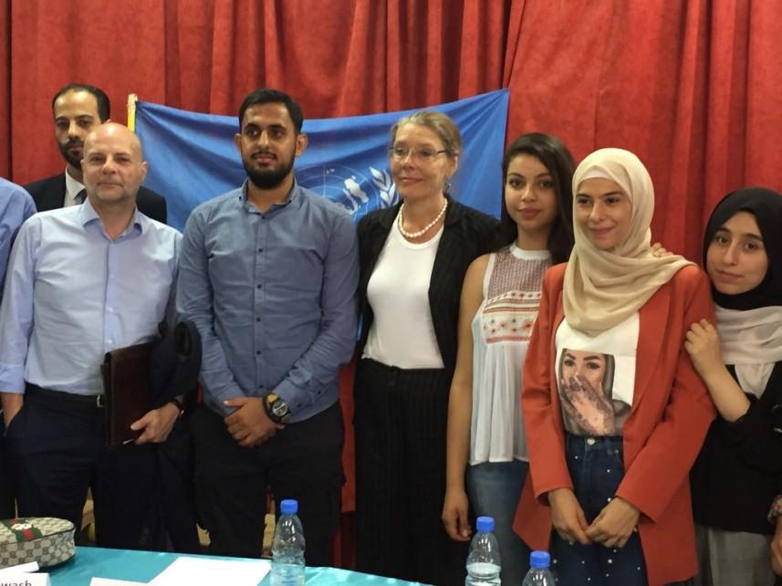 كاردل وكوردوني تفقدا الرشيدية || ملتزمون بتقديم المساعدات للاجئين الفلسطينيين