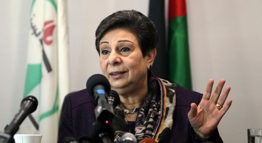 حنان عشراوي تدين منع العدو لناشط سويدي من دخول فلسطين