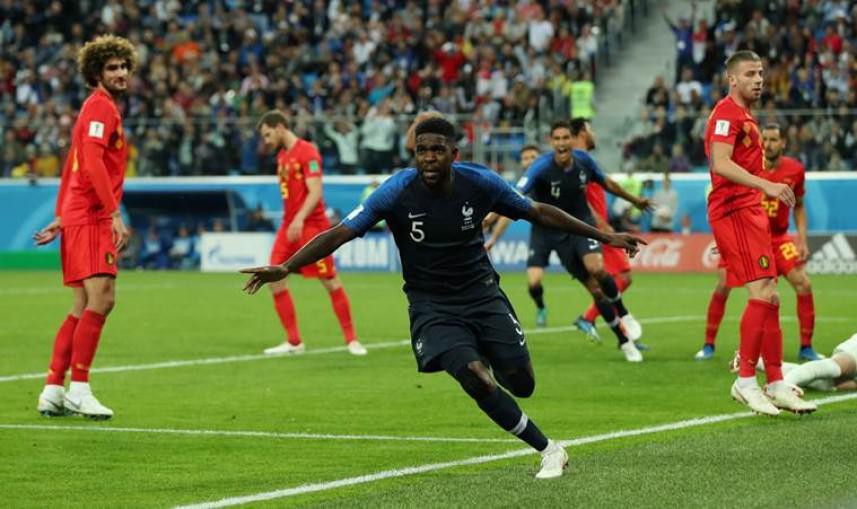 فرنسا تبدد أحلام بلجيكا وتتأهل لنهائي مونديال 2018