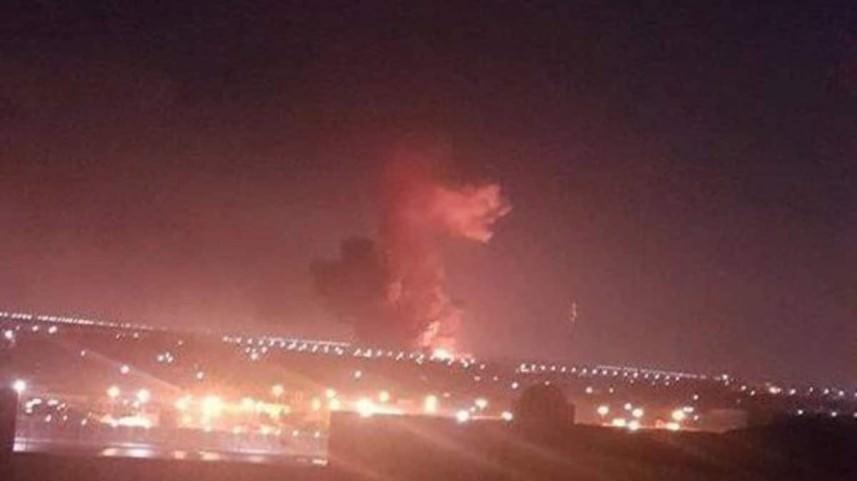 إنفجار في مصنع بتروكيماويات خارج مطار القاهرة بسبب ارتفاع درجة الحرارة
