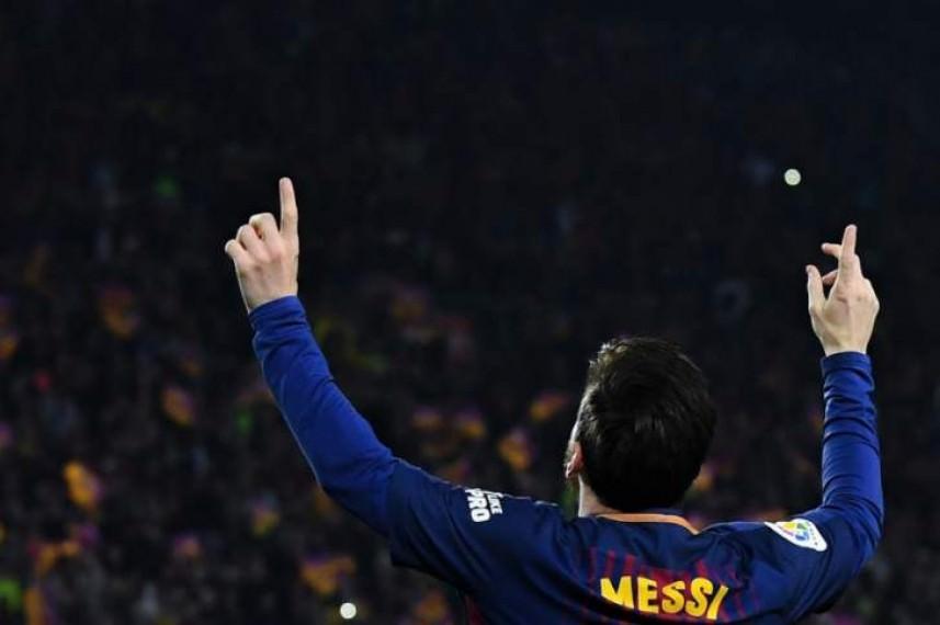 برشلونة ينوي التجديد مع ليونيل ميسي