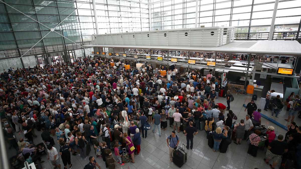 مطار ميونيخ يلغي 200 رحلة.. بسبب امرأة مجهولة