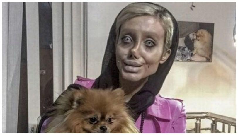 صور.. هذا هو الوجه الحقيقي للإيرانية شبيهة أنجلينا جولي