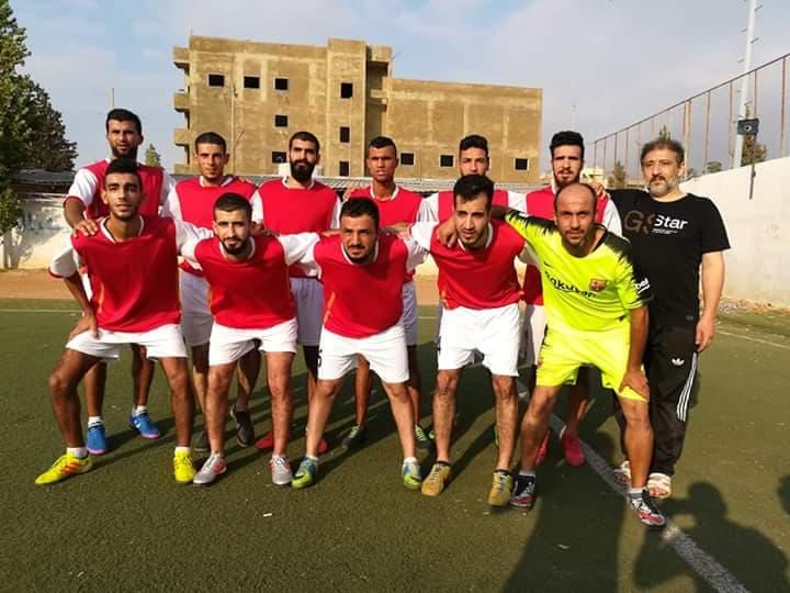 عادل نادي القدس و نادي الأجيال في مخيم البداوي