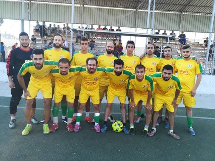 الضفة والهلال يتعادلان بتصفيات المجموعة الثانية بنتيجة 2- 2 على ارص ملعب فلسطين في مخيم البداوي