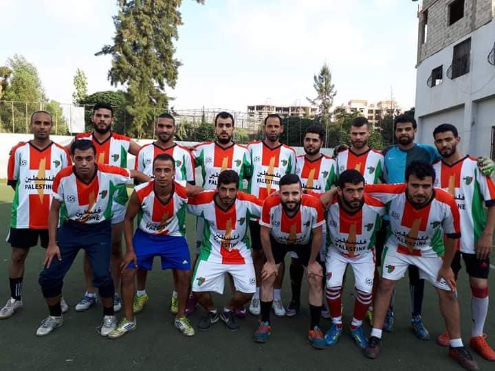 فوز نادي فلسطين على نادي شهداء جنين بنتيجة 3 _ 1 في مخيم البداوي