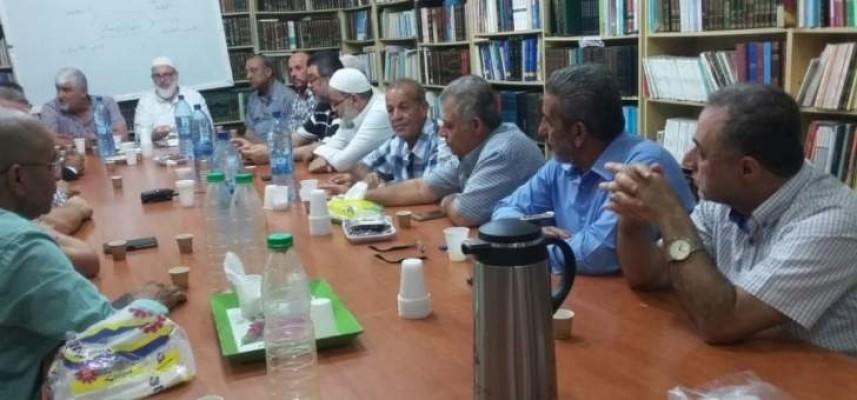 تحالف القوى الفلسطينية والقوى الإسلامية استعرضا الأوضاع بفلسطين ولبنان