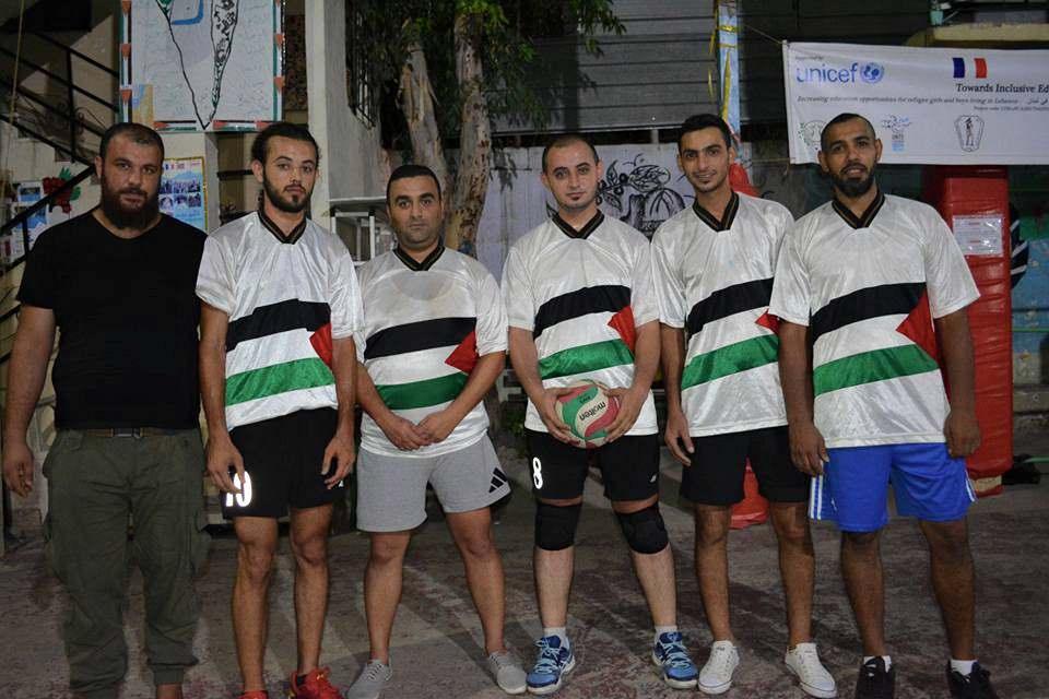 القدس بطل كأس الشهيد ابو علي مصطفى لكرة الطائرة