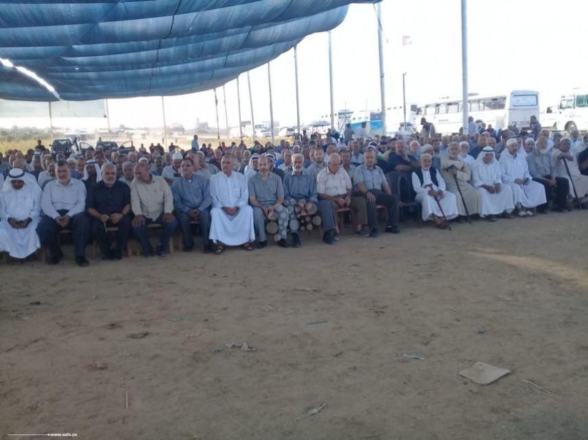 وجهاء وفصائل بغزة || مسيرات العودة الخيار الأمثل لمواجهة صفقة القرن