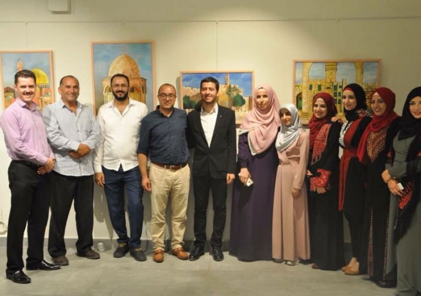 اختتام معرض فني دولي في اسطنبول عن القدس