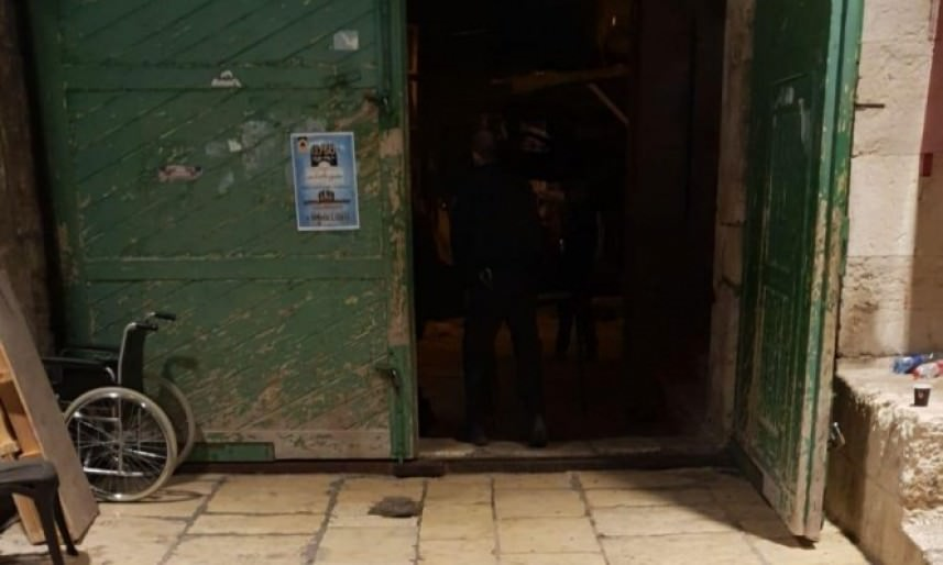 إعادة فتح أبواب المبارك الأقصى بعد إغلاقه لساعات