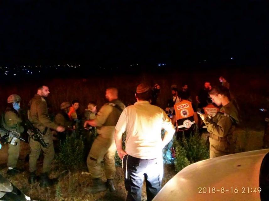 أمن نابلس يُسلم منفذ حادثة دهس إسرائيلية للعدو