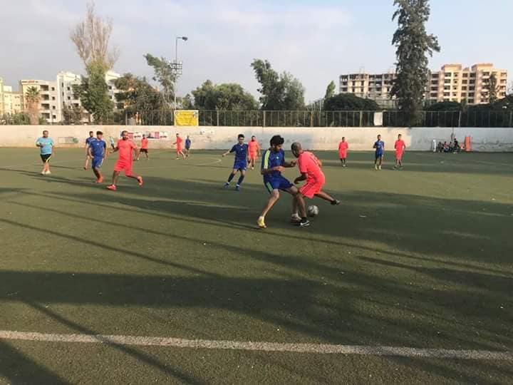 فوز نادي الضفة على نادي الدرة في مخيم البداوي
