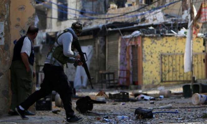 جرحى بتجدد الاشتباكات في مخيم المية ومية جنوبي لبنان