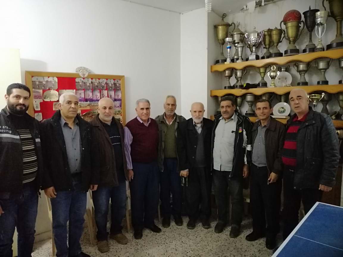 شعبة البداوي تزور ادارة نادي شبيبة فلسطين