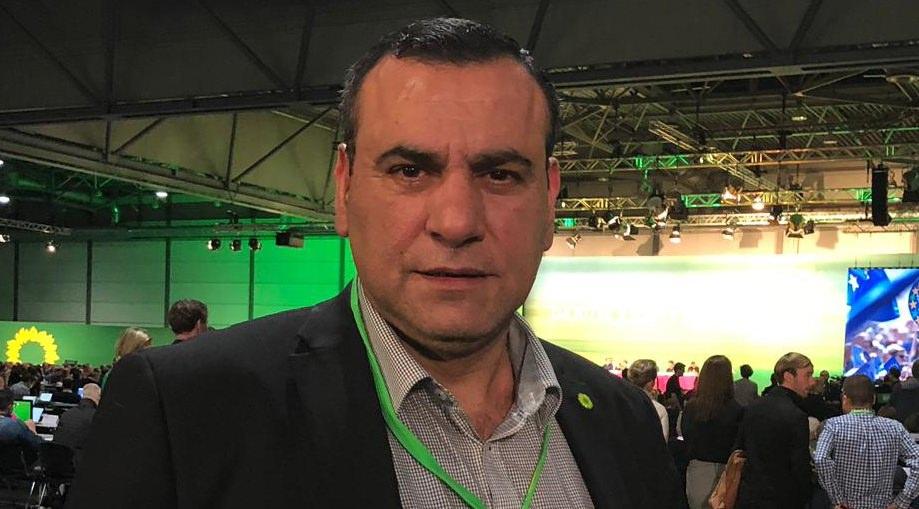شارك النائب الألماني الفلسطيني عبدالكريم عراقي