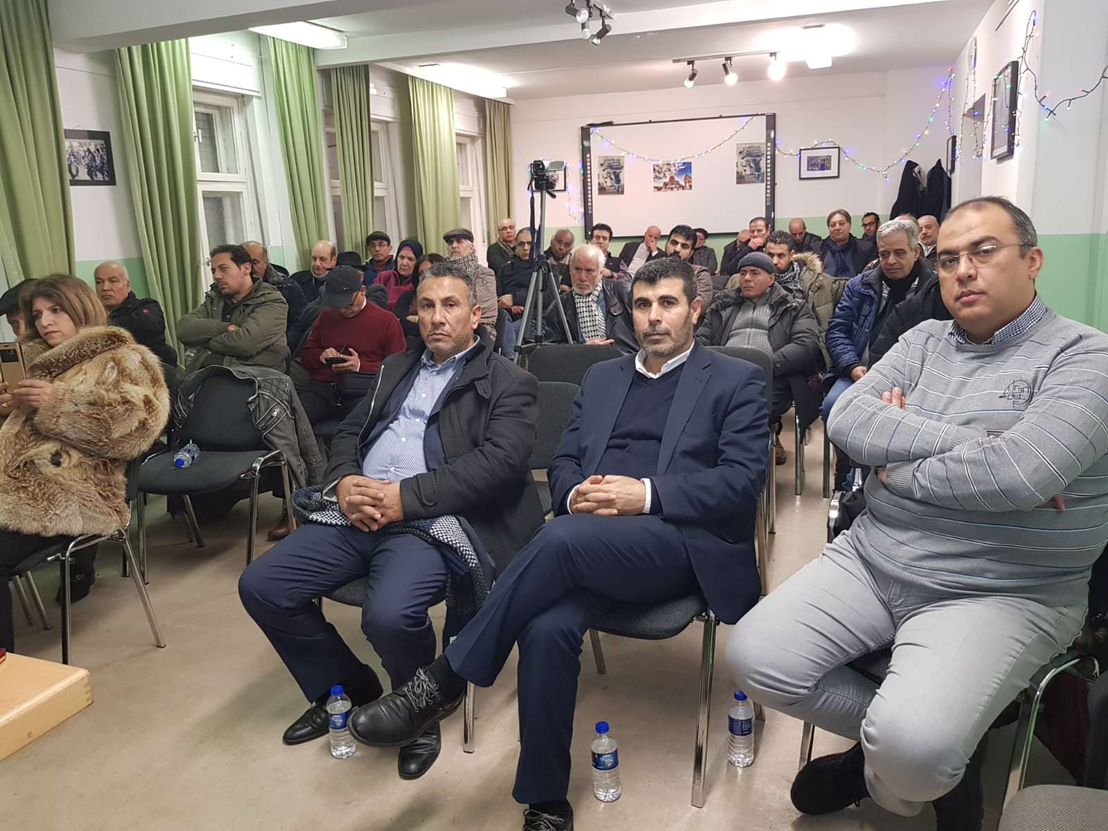 ندوة المجلس الفلسطيني المركزي في المانيا بعنوان القدس بين الحاضر والماضي