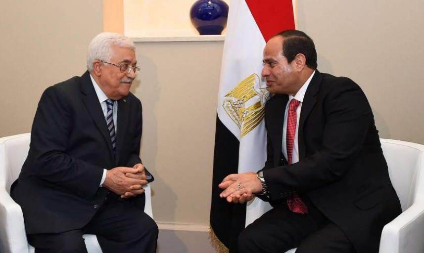 عباس والسيسي يبحثان آخر التطورات