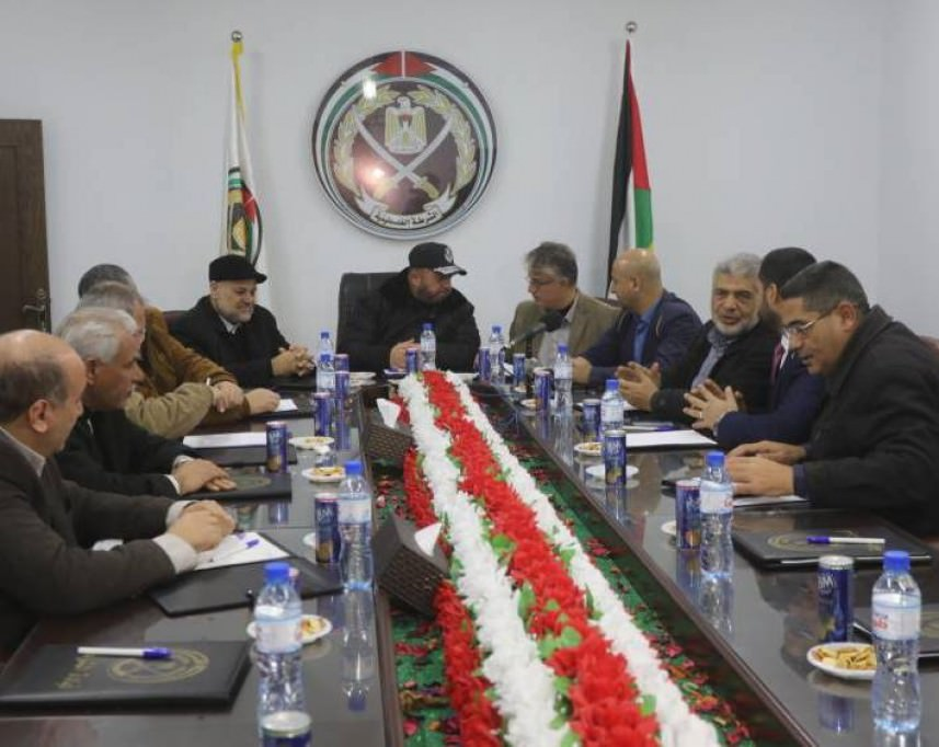 الفصائل بغزة || لا مصلحة لحماس بحادثة تلفزيون فلسطين