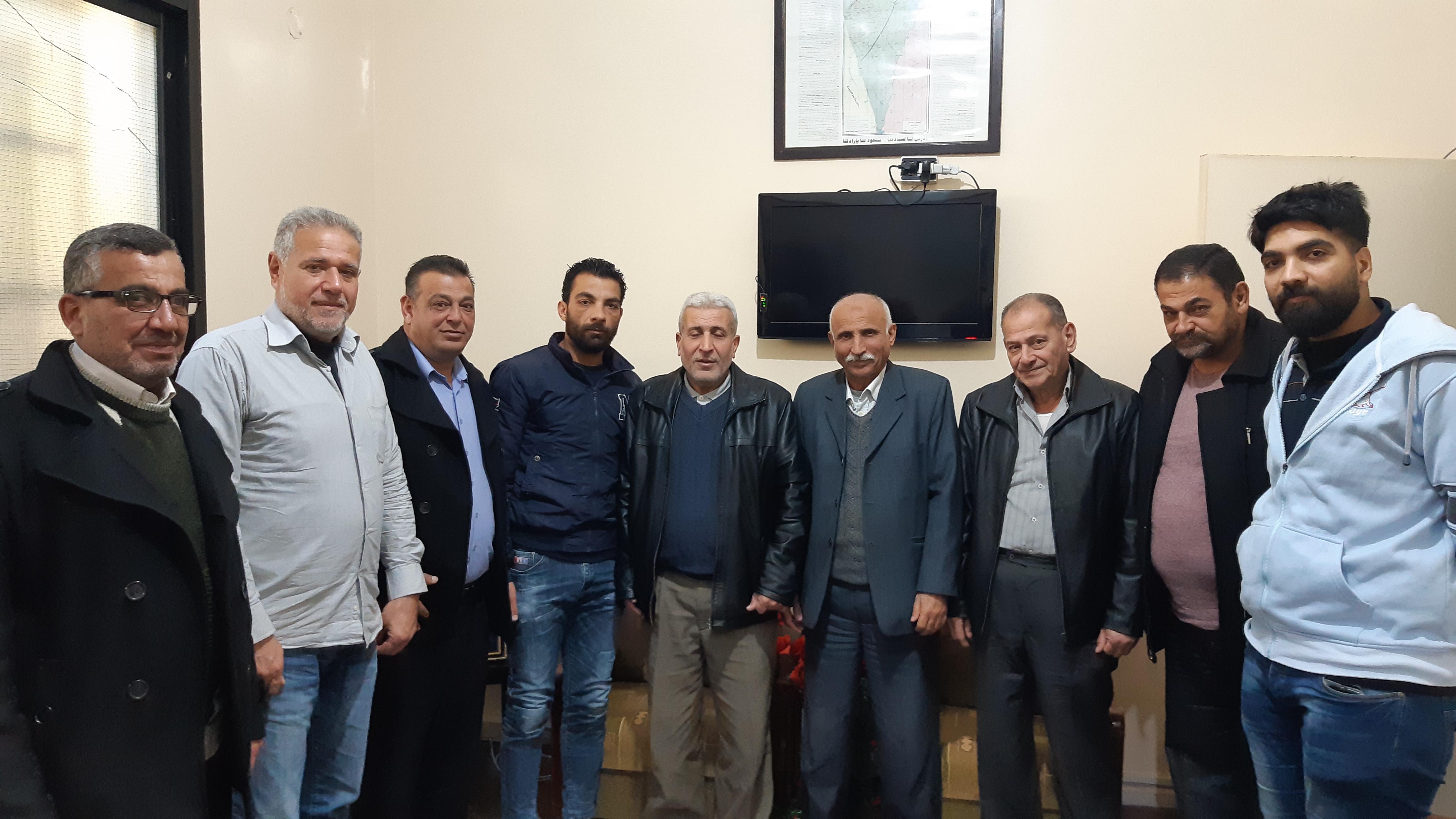 الرشيدية || الجهاد يستقبل وفدا من جبهة التحرير الفلسطينية وابناء