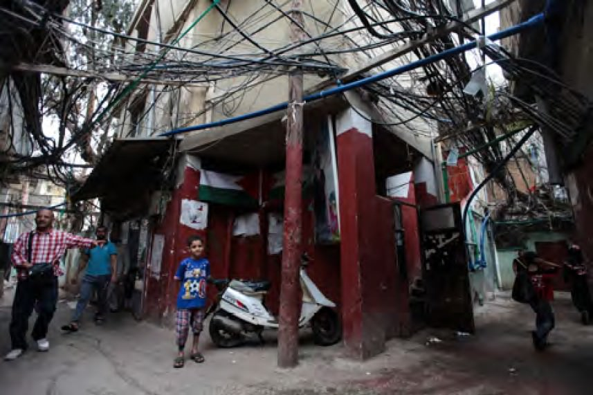 شاهد || تصدر تقريراً يوثق واقع مخيم شاتيلا المأساوي