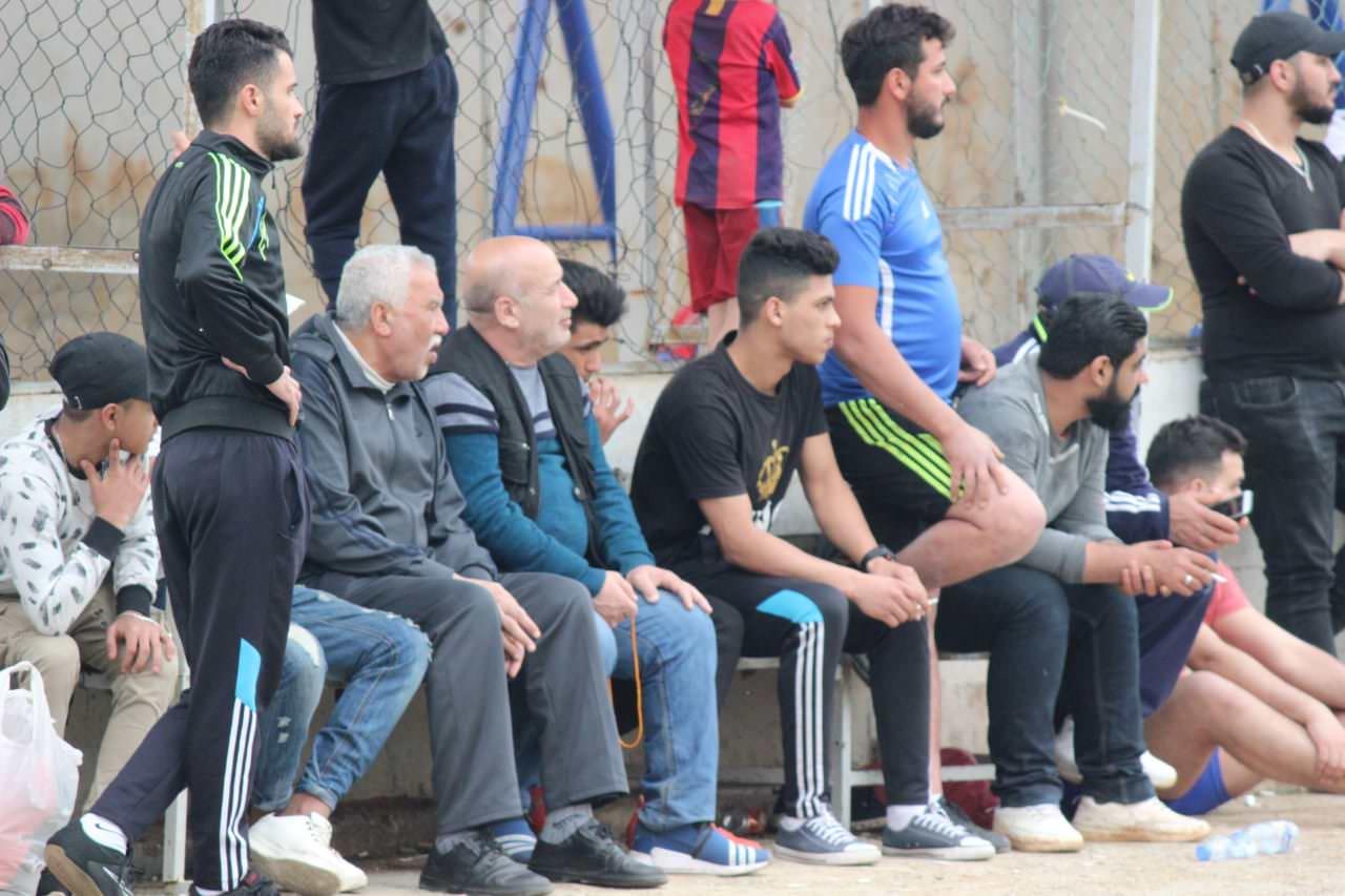 فوز نادي اشبال فلسطين على نادي النضال