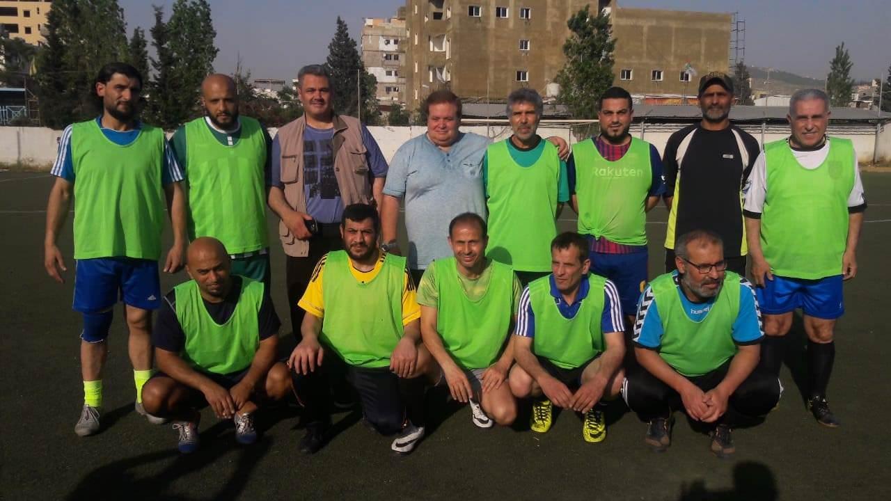 تعادل بين نادي شبيبة فلسطين و فلسطين ضمن دورة القدماء الرمضانية