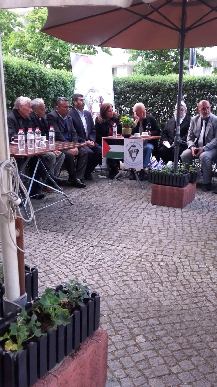 أمسية شعرية للشاعر الفلسطيني الكبير غسان إبراهيم في برلين