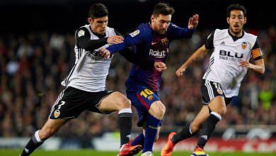 برشلونة يطمح لتفادي الكارثة أمام فالنسيا في نهائي كأس الملك