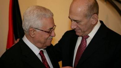 أولمرت || الرئيس عباس الوحيد القادر على صنع السلام
