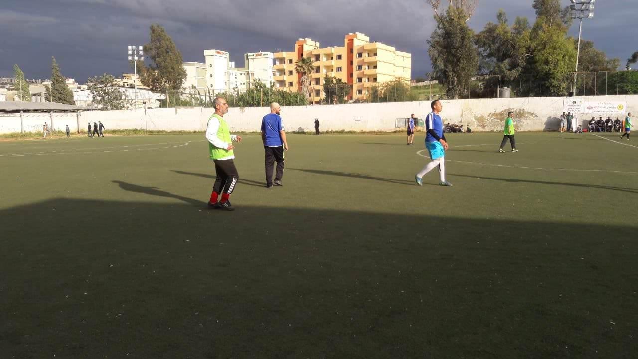 ضمن دورة القدماء الرمضانية فوز قدماء نادي النضال على قدماء شبيبة فلسطين 6-4