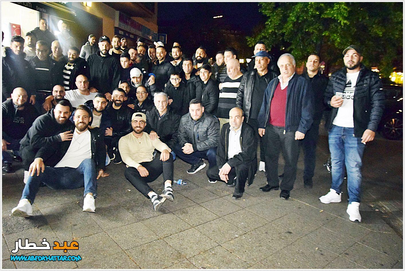 رابطة شباب مخيم البداوي في برلين تقيم إفطار جماعي لابناء مخيم البداوي في صالة معجنات الشام