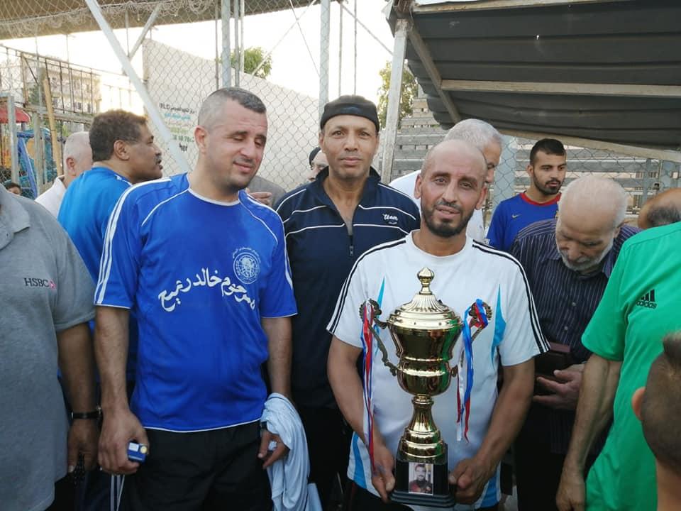 تعادل قدماء شبيبة فلسطين على قدماء نادي النضال الفلسطيني في مخيم البداوي