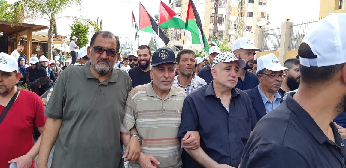 حركة الجهاد الإسلامي تشارك بفعاليات يوم القدس العالمي في لبنان