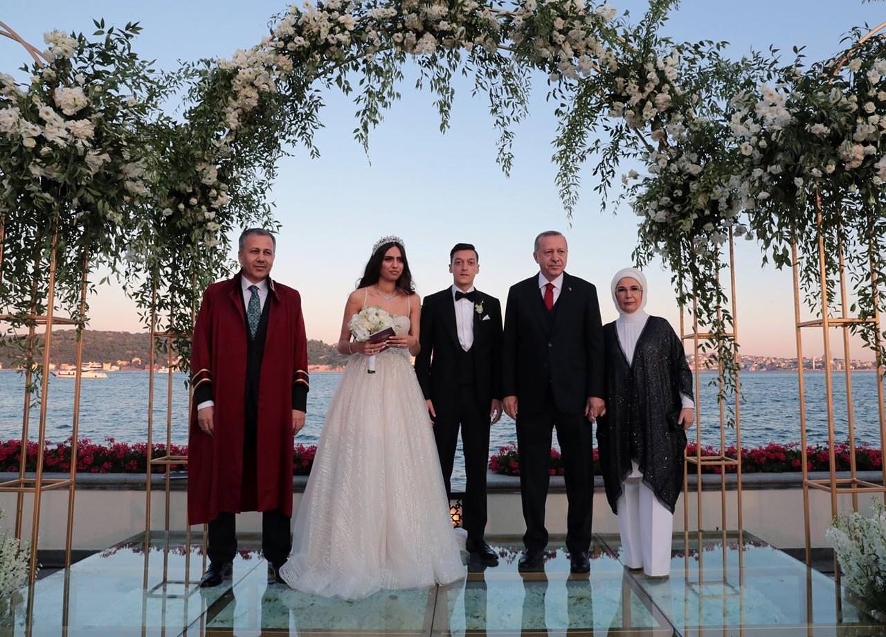 أردوغان بزفاف نجم ريال مدريد السابق مسعود أوزيل