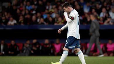 صداع ميسي يثير إعجاب لاعبي منتخب الأرجنتين