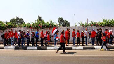آلاف المصريين يحتشدون من أجل ضربة بداية كأس إفريقيا