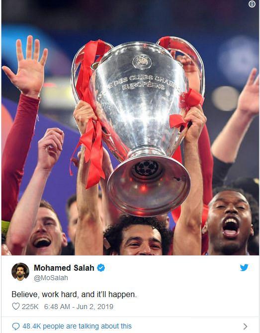 تتويج صلاح بكأس أبطال أوروبا..يطلق الأفراح من القاهرة إلى ليفربول