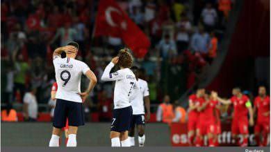 تركيا تسقط فرنسا بطلة العالم في تصفيات يورو 2020