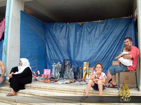 جولة في مخيم البداوي