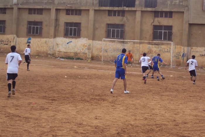 فوز نادي رام الله على نادي الشبيبه ضمن بطولة كأس فلسطين