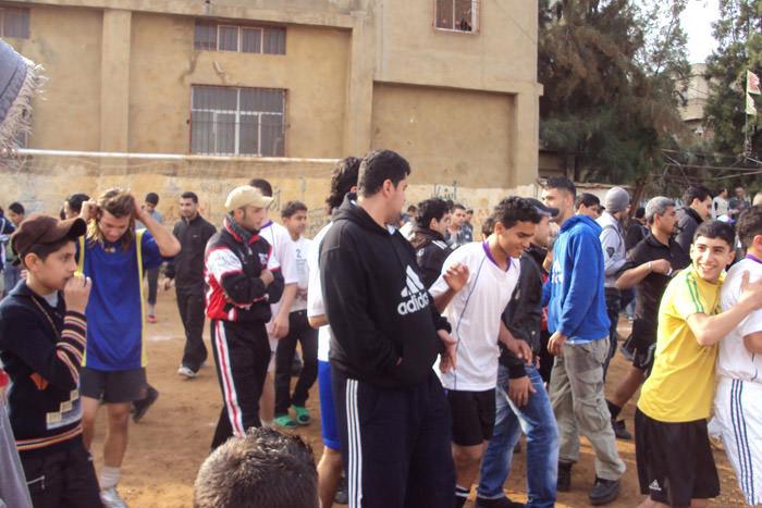 فوز نادي العوده على نادي رام الله ضمن كأس الشهيد