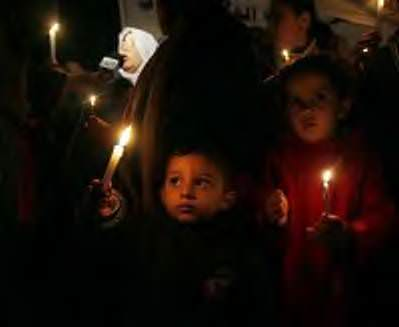غزة تعيش في الظلام - صور