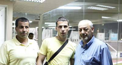 النجم الفلسطيني هداف دوري كرواتيا أحمد الشربيني