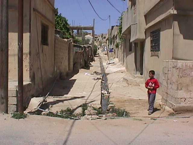 صور من مخيمات اللاجئين الفلسطينيين في الأردن