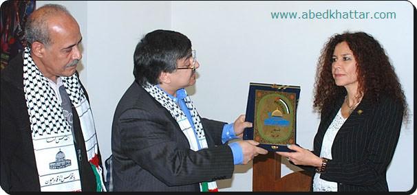 لجنة العمل الوطني الفلسطيني في برلين تزور سفارة بوليفيا في ألمانيا