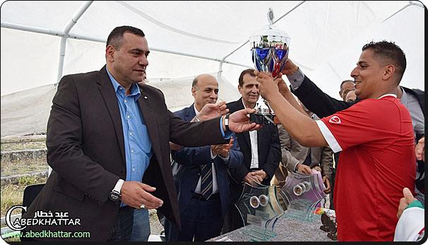 فريق الكوثر يحقق الفوز في المركز الأول في بطولة الجاليات العربية الحادية عشر لكرة القدم في برلين