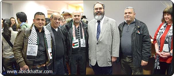 لجنة العمل الوطني الفلسطيني لبت دعوة معرض سفارة الإكوادور في برلين