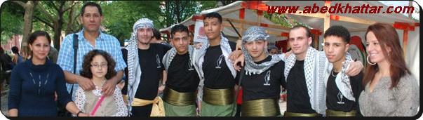 رابطة الحولة الخيرية شاركت بمهرجان فني للفولكلور الفلسطيني في منطقة الشيلر بروميناد
